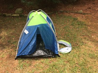 Toddler tent and tunnel no rips