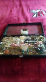 Nice old costume jewelry lot