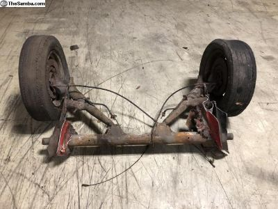 911 rear suspension