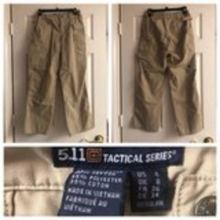 Womens Khaki 5-11 Tactical Pant, Size 4