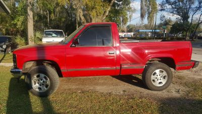 1989 Chevrolet RSX K1500 Cheyenne (Red)