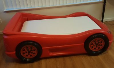 Lightning McQueen Bed with Simmons mattress