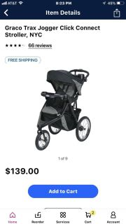 ISO GRACO TRAX STROLLER