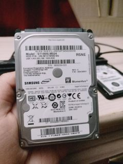 Two Hard drives (1000Gb and 160Gb)