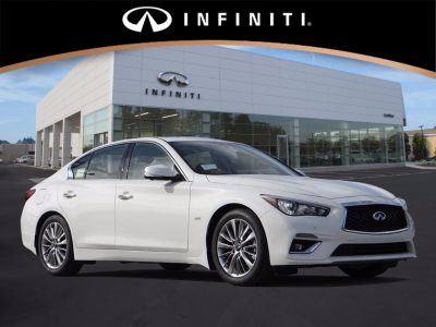 2018 Infiniti Q50 CAR (PURE WHITE)