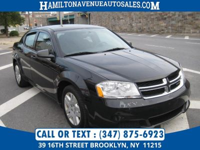 2011 Dodge Avenger Express (Black)