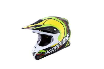 Sell Scorpion VX-R70 Spot MX/Offroad Helmet Multi motorcycle in Holland, Michigan, US, for US $269.95