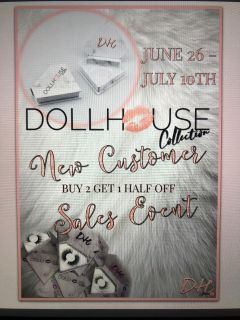 Dollhouse Collection Mink eye lashes