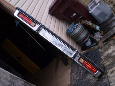 1978-87 Chevrolet El Camino & GMC Caballero Rear Bumper OEM NICE TAIL LIGHTS