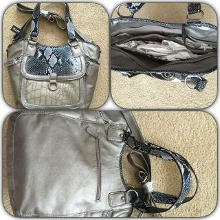 Brand New with Tags! Pewter Purse, Apt 9