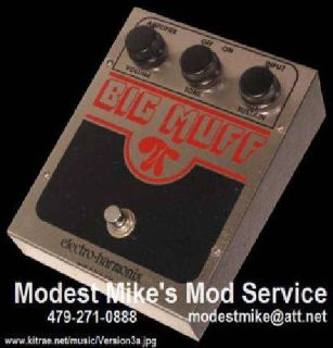 $44 Big Muff Mod Service and Modded Pedals