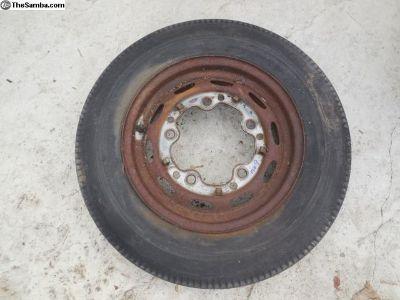 Porsche 356 Original KPZ Steel Wheel FL # 9 date s