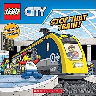 ISO Lego Stop that train book