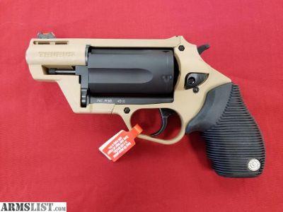 For Sale: Brand New Taurus Judge Public Defender in FDE .410 ga/45LC