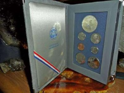 Exceptional United State Mint-Prestige Silver Proof Set-1986-S Liberty Silver Do