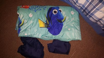 twin dory bed set best offer used once