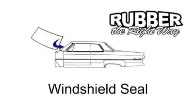 Find 1955 1956 1957 Ford Thunderbird Windshield Seal motorcycle in San Diego, California, United States, for US $55.00