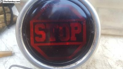 """Stop Light 4"""" painted lens"""