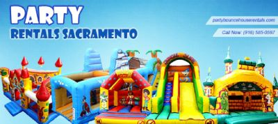 Party Rentals Sacramento - Go Bouncy This Christmas!