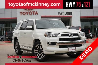 2018 Toyota 4Runner Limited (Blizzard Pearl)