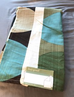 Urban Outfitters Lightweight Patterned Bed Spread