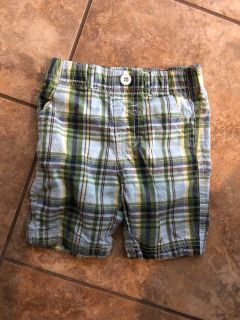 Plaid Shorts. Nice Condition. Size 24 Months