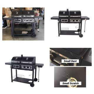 Revoace Dual Fuel Gas & Charcoal Combo Grill