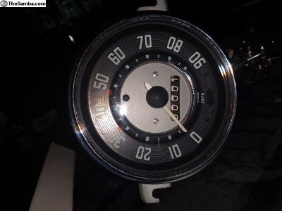 1966 bug speedometer fully restored