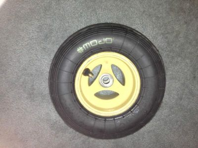 Purchase Race Kart Freeline Front Rim with Mojo Tire 4.5/10.0-5 motorcycle in Miami, Florida, US, for US $15.00