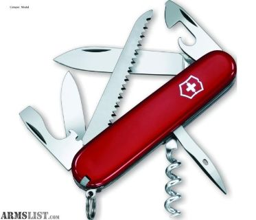 For Sale: Victorinox Camper Knife