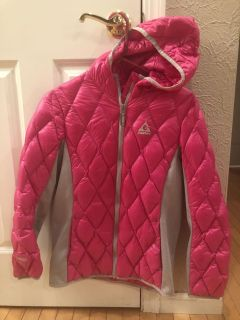 Gerry Pink and gray girls coat