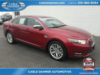2017 Ford Taurus Limited (red)
