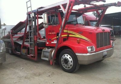 2001 Peterbilt 330-Five-Car-Hauler