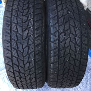 2 Toyo G-02 winter tires 215-60-17 ...like new