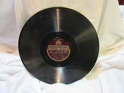 "1934 Parlophone Odeon Series RO 20431 78rpm Record Etched Album 10"" Double Sided"