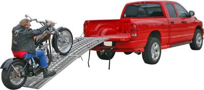 "Purchase 10' x 38"" BIG BOY FOLDING MOTORCYCLE RAMPS-ARCHED RAMP (MF-12038) motorcycle in West Bend, Wisconsin, US, for US $459.99"