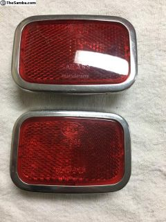 1970 only rear bumper reflectors - Hella