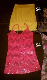 cute tops are all size small
