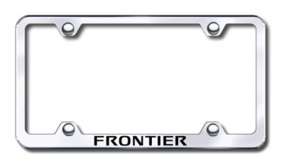 Sell Nissan Frontier Wide Body Engraved Chrome License Plate Frame -Metal Made in U motorcycle in San Tan Valley, Arizona, US, for US $30.98