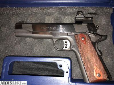 For Sale: Colt XSE 80s series 1911
