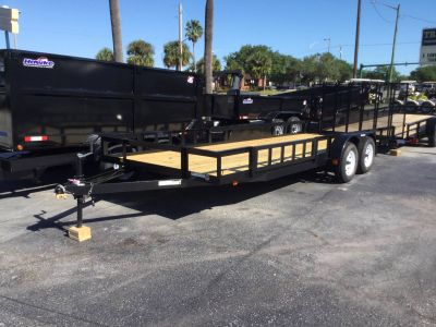 2018 Triple Crown 7X20 ATV Trailer Utility Trailers Fort Pierce, FL