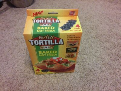 Tortilla pans set of 4