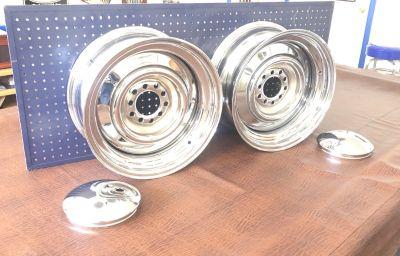 Pete Paulson - Chrome Smoothie Wheels