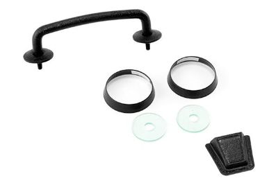 Buy Rugged Ridge 11201.05 - 07-12 Jeep Wrangler Black Windshield Tie Down Kit motorcycle in Suwanee, Georgia, US, for US $41.16