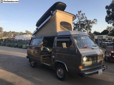 1980 Westfalia Vanagon Camper Solar Rig Aircooled