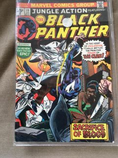 Black panther #19 1976 marvel comics free shipping on all orders