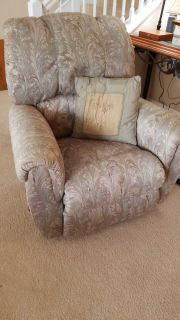 Pair of Lane recliners