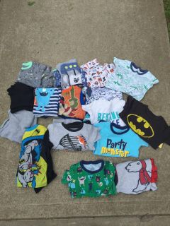 4 t pj sets (16 sets includes tops and bottoms)