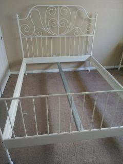 Shabby Chic Queen Bed Frame