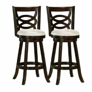 Bar Stools- Cappuccino Stained
